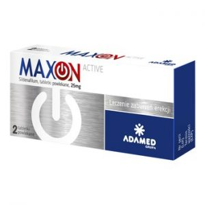 suplement diety maxon active do walki z zaburzeniami erekcji