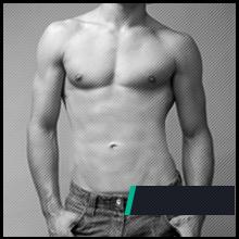 1 miesiąc stosowania preparatu na przyrost masy mięśniowej